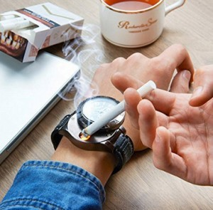 2-in-1 Armbanduhr/Zigarettenanzünder!