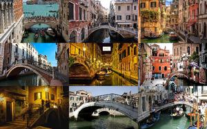 Bridges of Venice - Brücken von Venedig