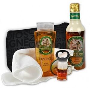 Männer Bier Geschenk-Set Feierabend!