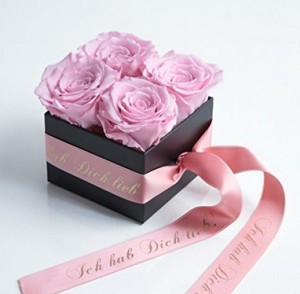 Ich hab Dich lieb - Rosenbox!
