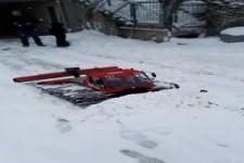 Schneeräumen für große Jungs