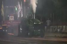 Motor explodiert, sicher ein Diesel :-)