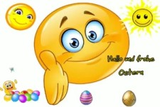 Hallo und Frohe Ostern