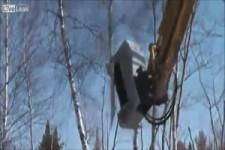Baum-Vernichtungs Maschine