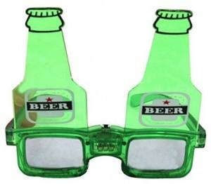 Leuchtende Bierbrille!