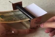Geldscheinmaschine selber gebaut