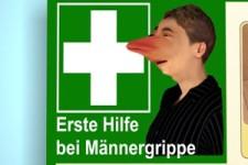 Erste Hilfe bei Männergrippe