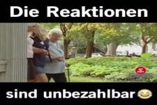 Reaktionen unbezahlbar ....