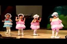 Kindergarten Auftritt.China