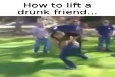 Drunk friend