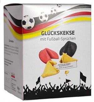Glückskekse mit Fußball-Sprüchen!