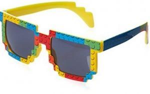 Sonnenbrille im Lego-Look!