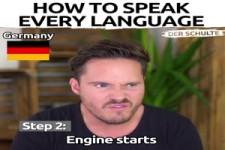 Sprachen sprechen