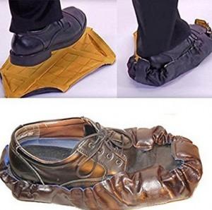 Automatische Schuhüberzieher!