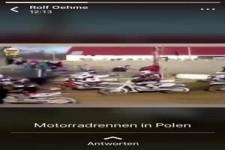 Motorradrennen in Polen