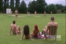 Nudist Cricket