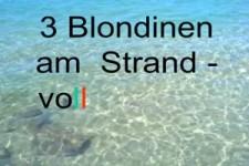 3 Blondinen am Strand