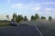 Crasse Dashcam in Russland