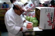 Super Held an der Melone