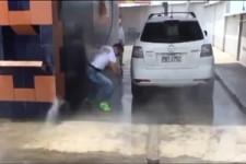 Wasser-Attacke