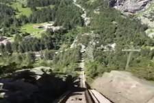 Gelmerbahn in der Schweiz
