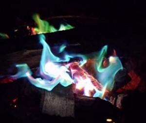 Salz für buntes Feuer!