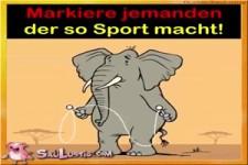 wer macht so Sport?