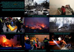 Fires in Greece - Brände in Griechenland