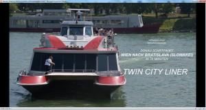 Danube Shipping Vienna to Bratislva