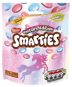 Smarties Einhorn-Edition!