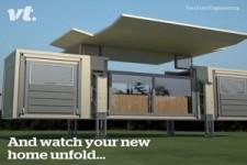 Haus aufbauen in 10 Minuten