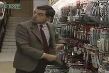 Mr. Bean geht einkaufen - legendär