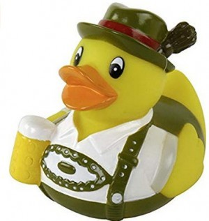 Oktoberfest-Quietsche-Ente!