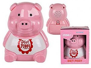 Kunststoff-Diätschweinchen für den...