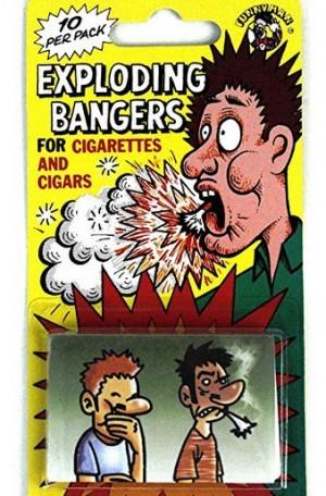 Knalleinlagen für Zigaretten!
