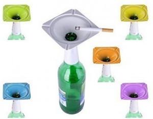 Der praktische Flaschen-Aschenbecher!