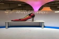 Präsentation der neuen Schuhkollektion