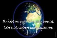 Die Erde spricht....