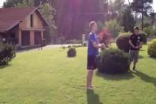 Hoppalas im Garten