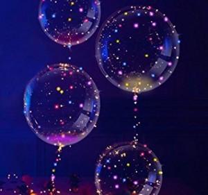 Helium-LED-Ballons!