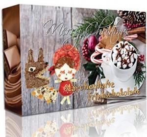 Adventskalender mit Trinkschokolade!