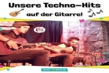 Techno-Hits auf Gitarre