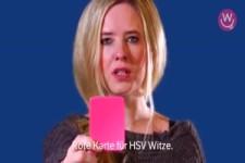 Rote Karte für HSV-Witze
