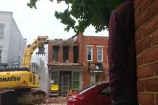 Wenn das falsche Gebäude einstürzt