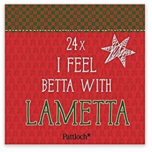 I feel betta with lametta!