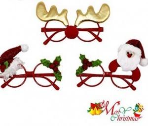 Lustige Weihnachts-Brillen!