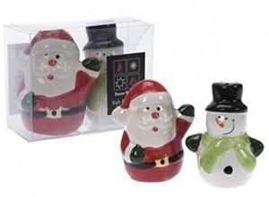 Lustige Salz- und Pfefferstreuer für Weihnachten!