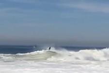 Heftige Welle