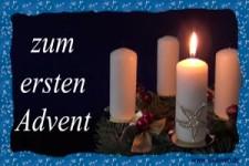 Lieber Gruß zum ersten Advent