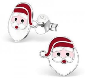 Weihnachtsmann-Ohrstecker!